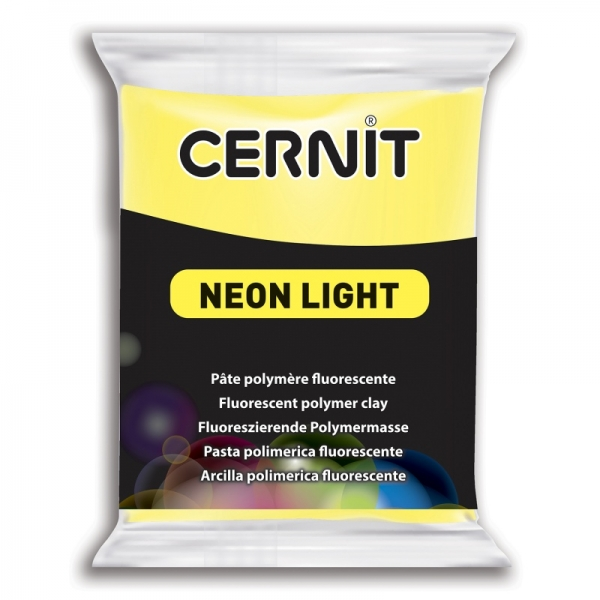 Arcilla polimérica Cernit Neon Light Jaune
